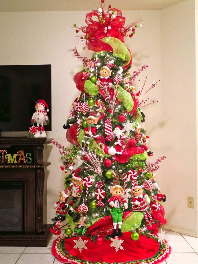 duendes navideños elfos