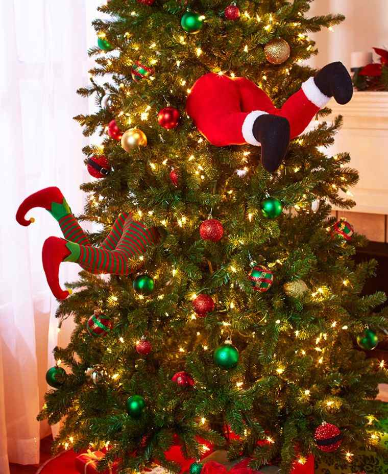 duendes navideños piernitas