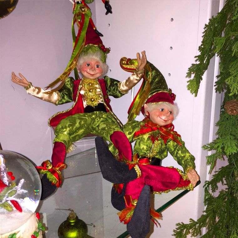 duendes navideños risas
