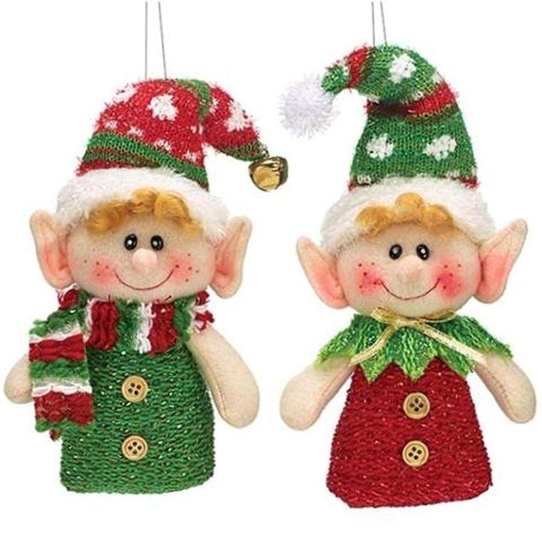 duendes navideños tiernos