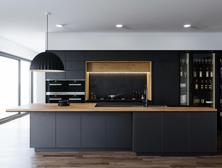 elemenros-madera-diseno-cocina-negra