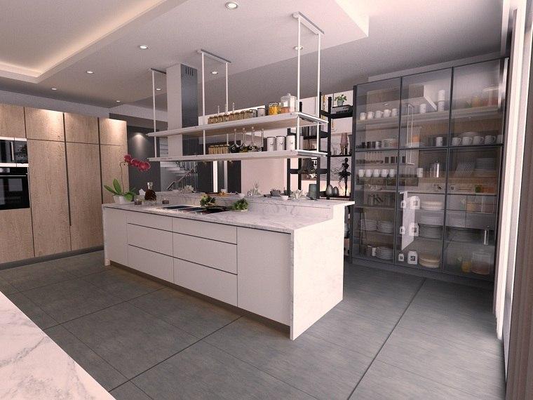 estantes para cocina-diseno-opciones