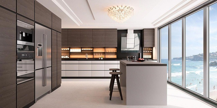 estantes para cocina-estilo-isla-grande