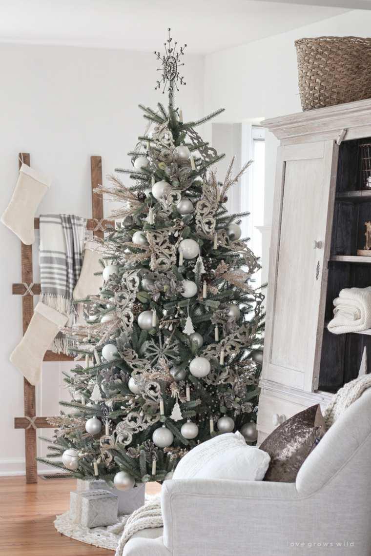 estilo-plata-arbol-navideno-diseno