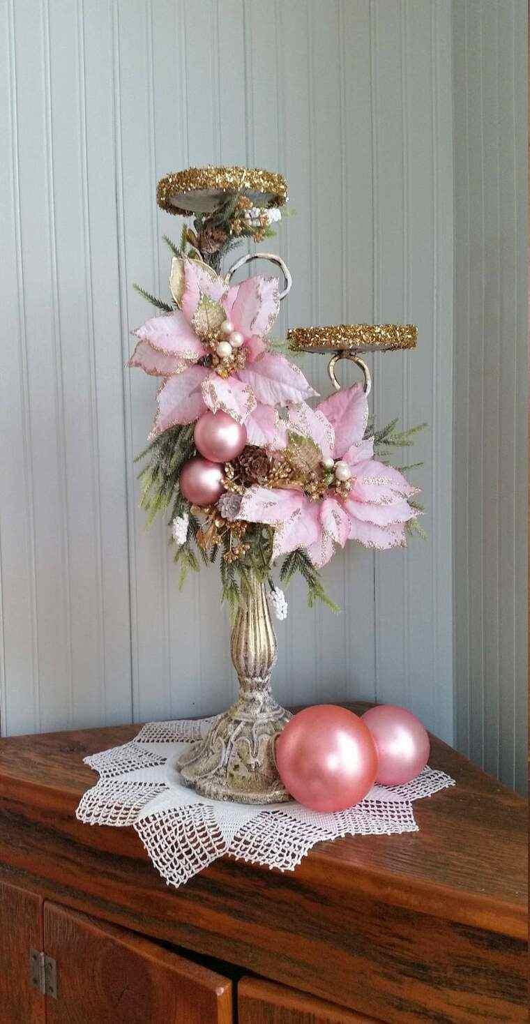 flor de pascua florero