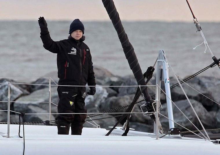 greta thunberg-camino-madrid-barco-cambios-climaticos