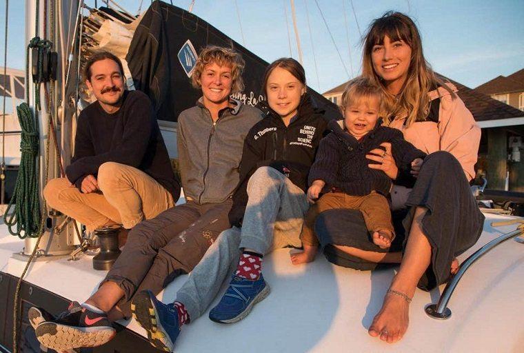 greta thunberg-camino-madrid-barco