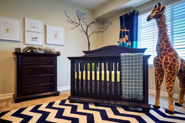 Habitaciones para bebés con decoración neutra – Elegante tendencia digna de admirar