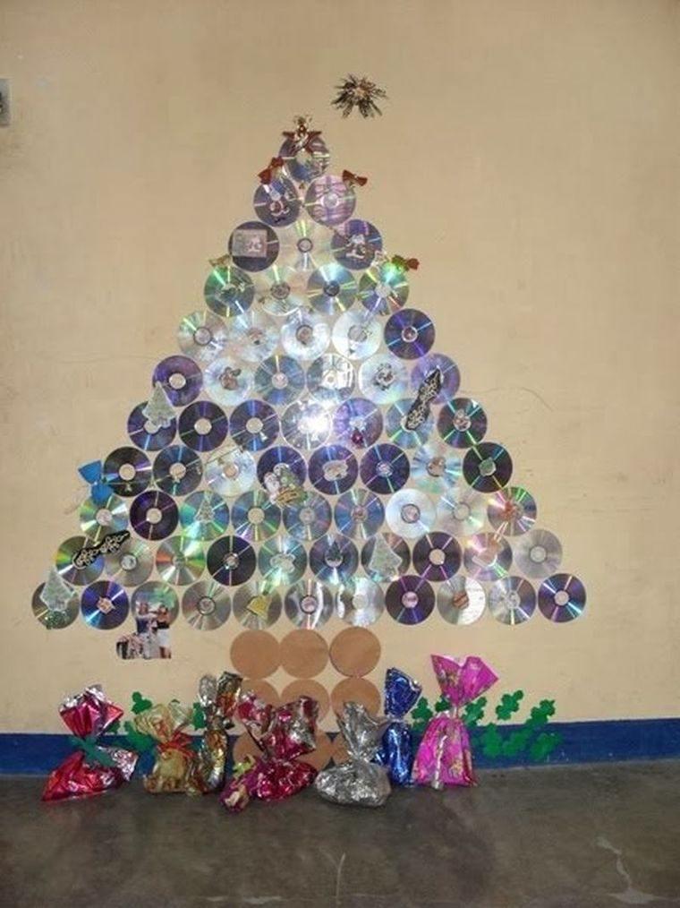 ideas de árboles de navidad cds