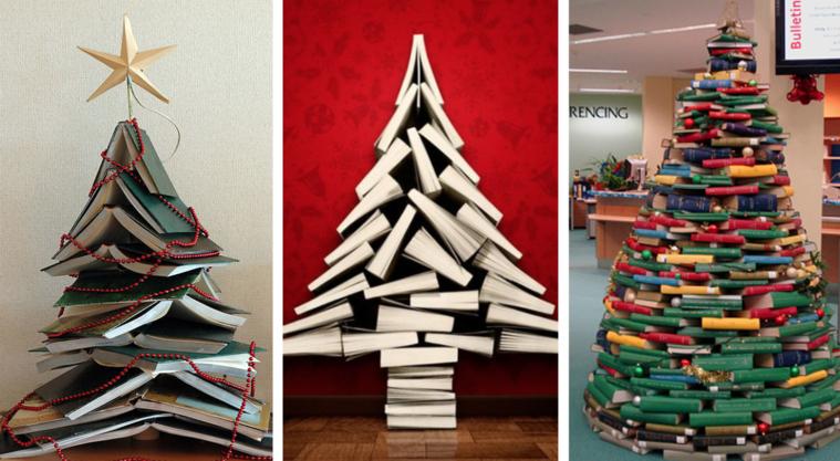 ideas de árboles de navidad libros
