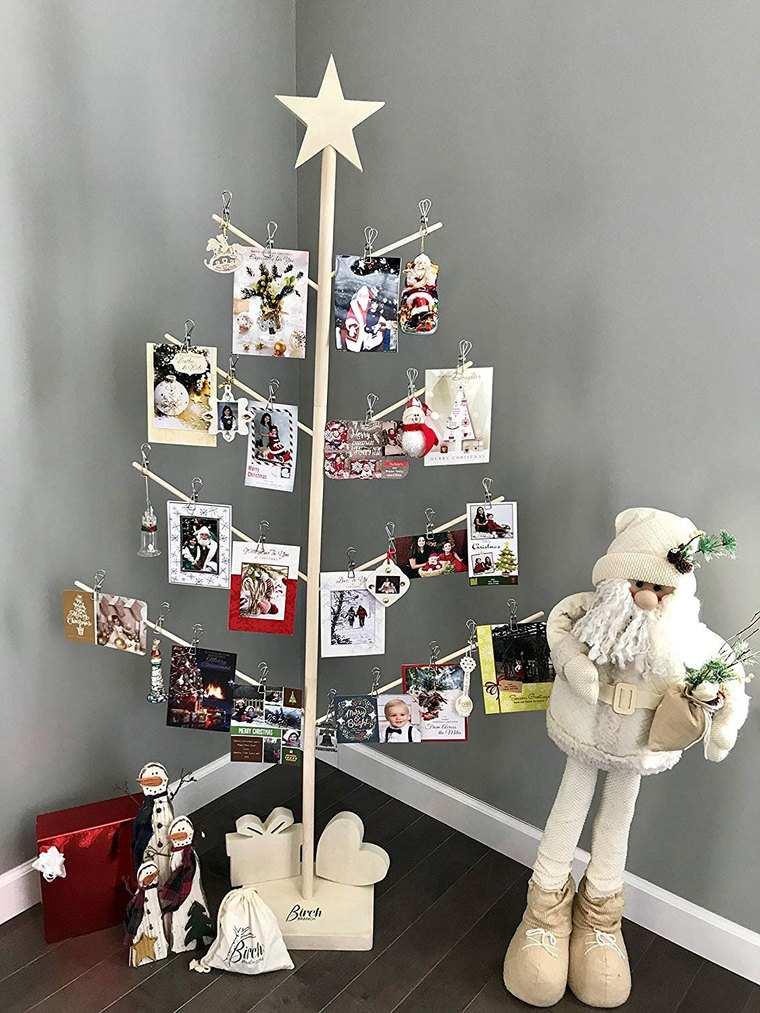 ideas de árboles de navidad postales