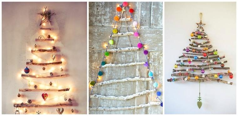 ideas de árboles de navidad ramitas
