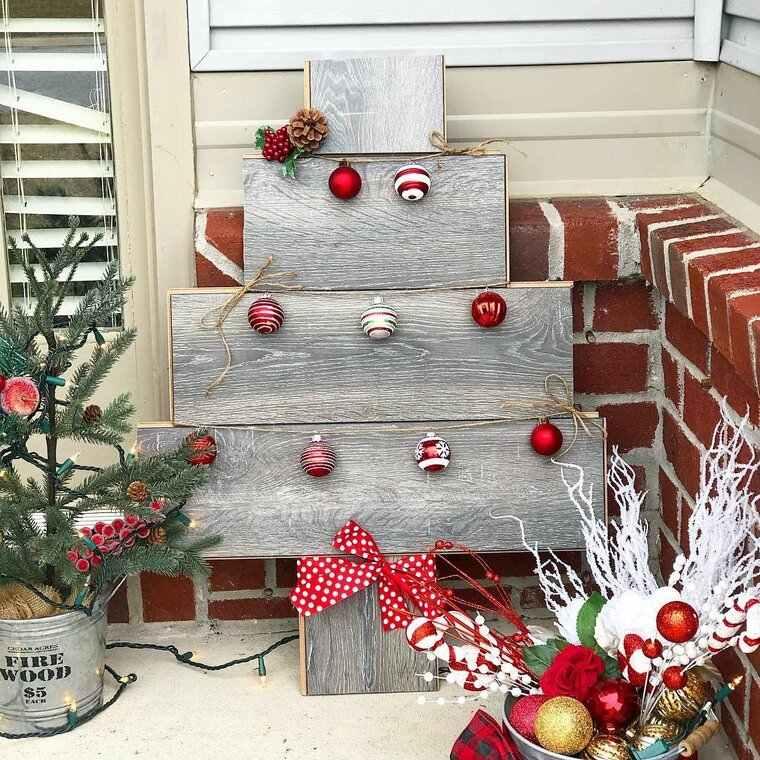ideas de árboles de navidad sencillo