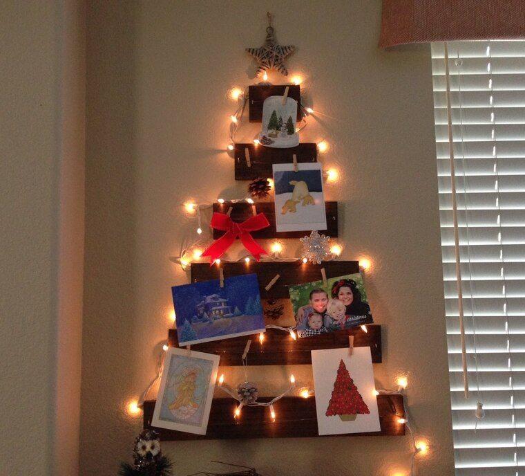ideas de árboles de navidad tarjetas