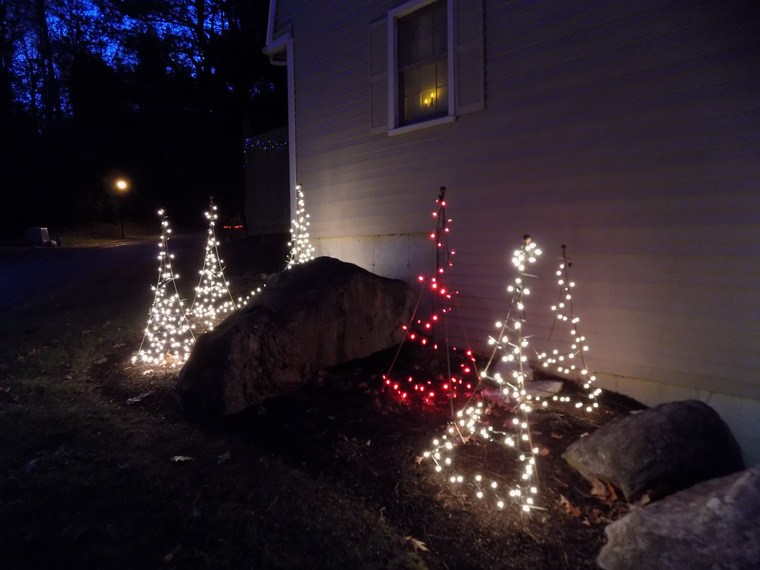 ideas de árboles de navidad tripoides
