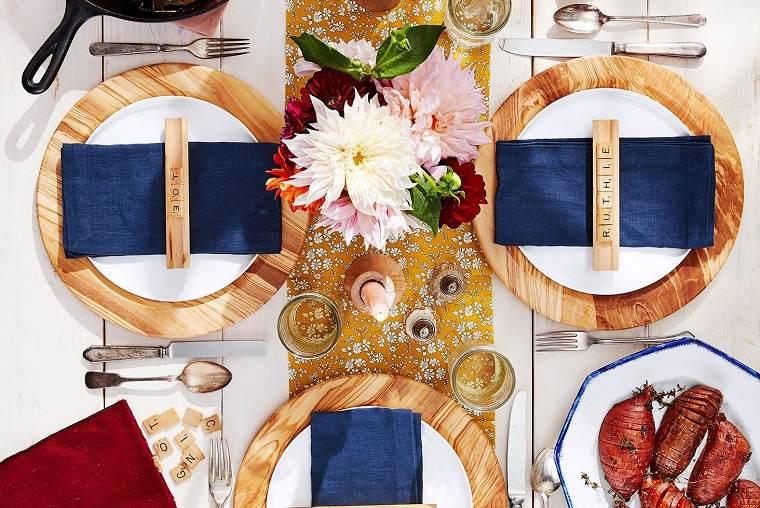 ideas de centro de mesa para navidad colores