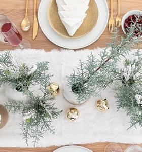 ideas de centro de mesa para navidad inicio