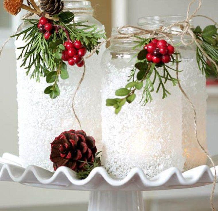 ideas de centro de mesa para navidad sal