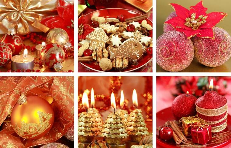 ideas de decoración navideña inicio