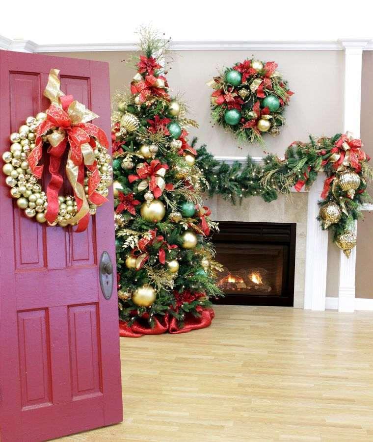 lazos navideños complemento