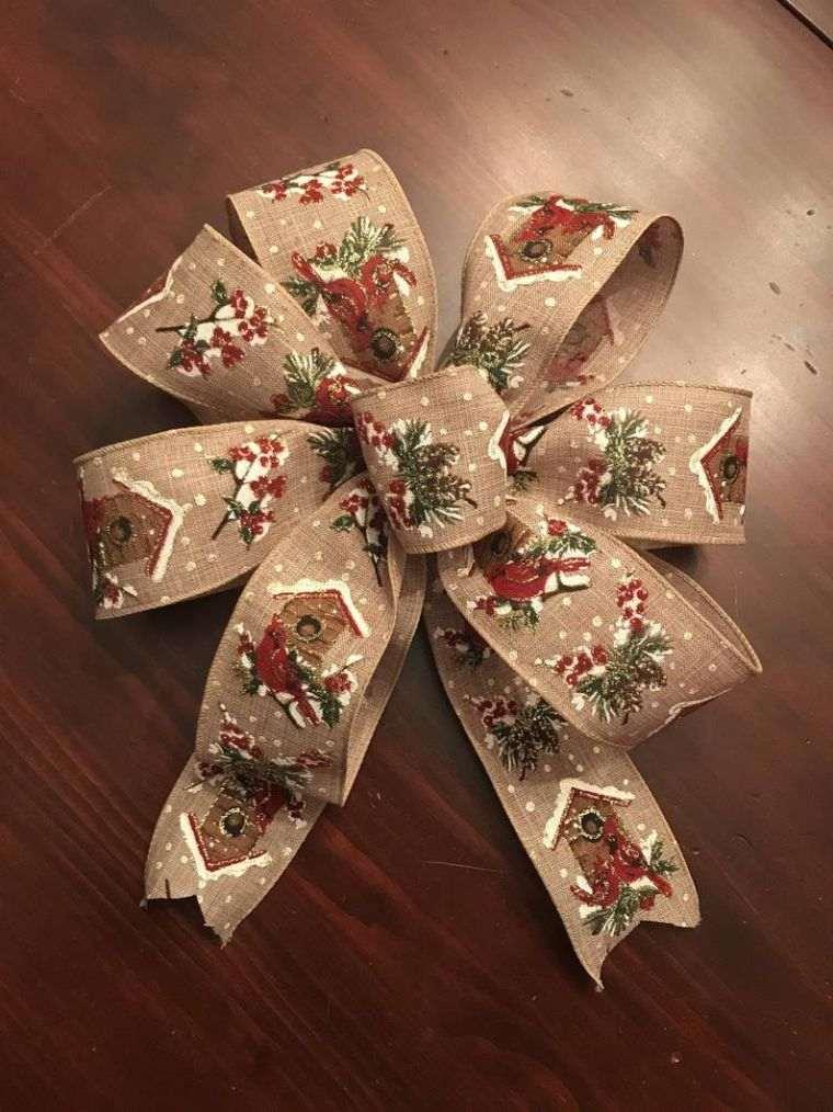 lazos navideños decorado
