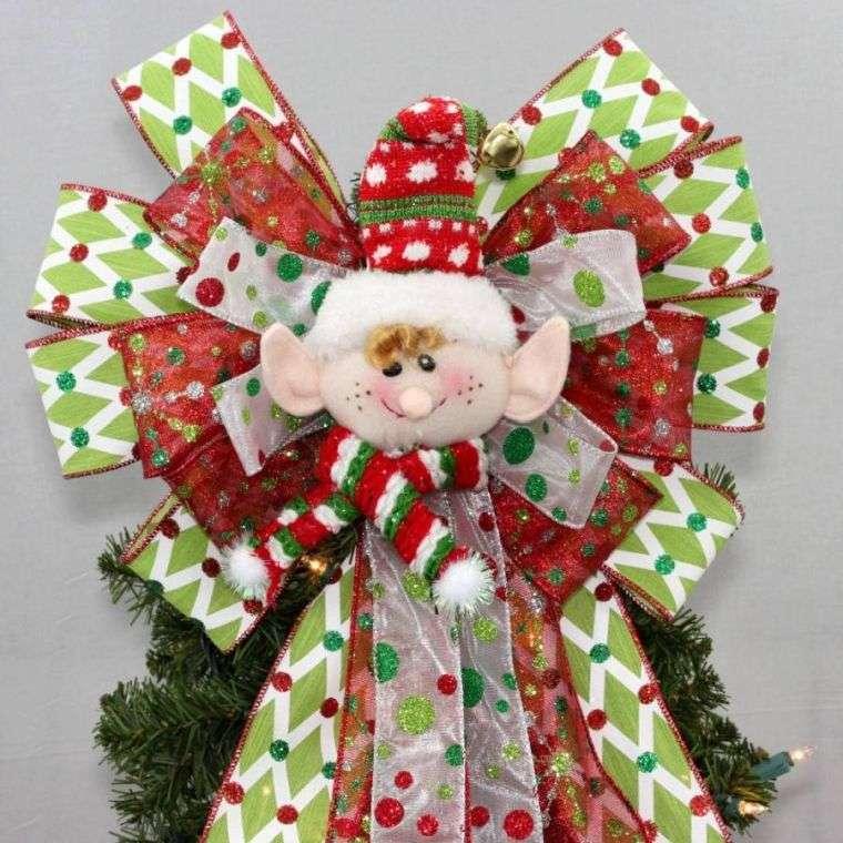 lazos navideños duende
