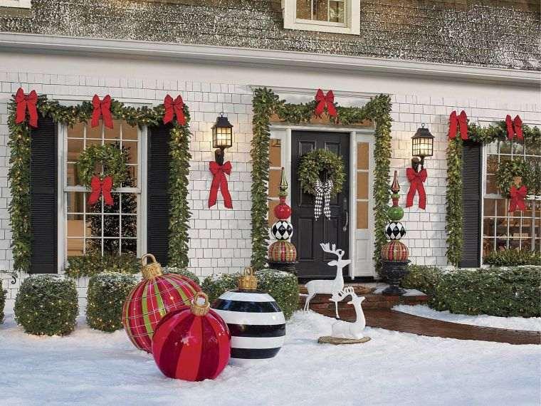lazos navideños entrada