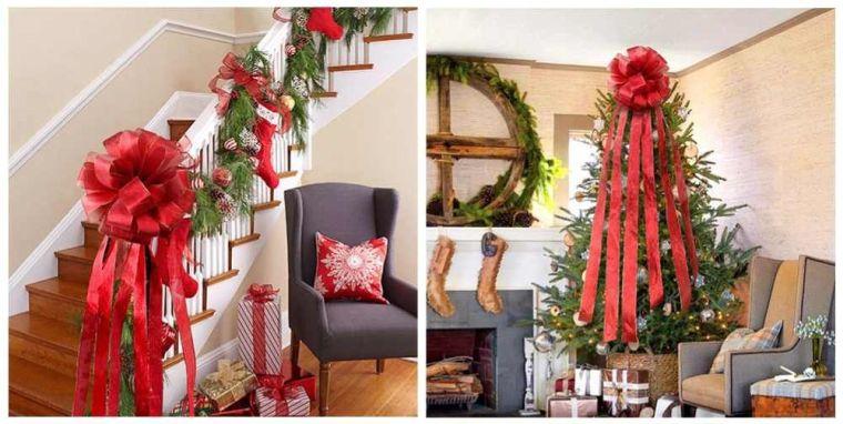 lazos navideños hogar