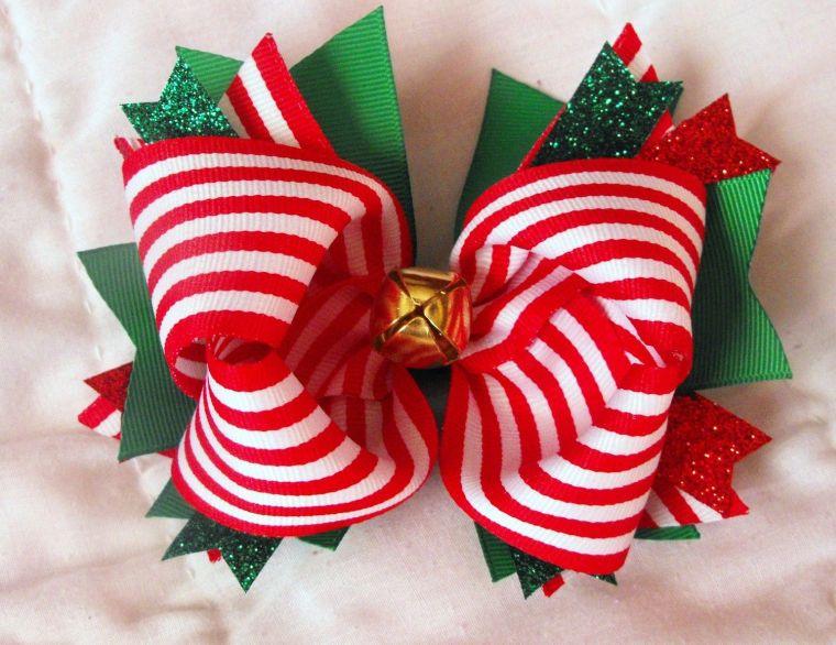 lazos navideños lineas