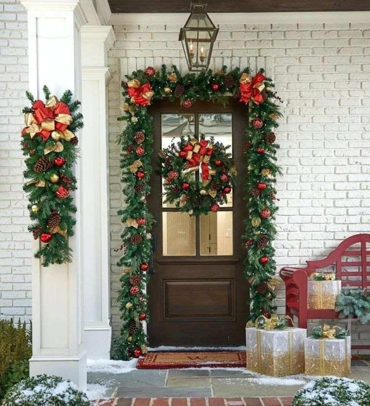 lazos navideños llamativo