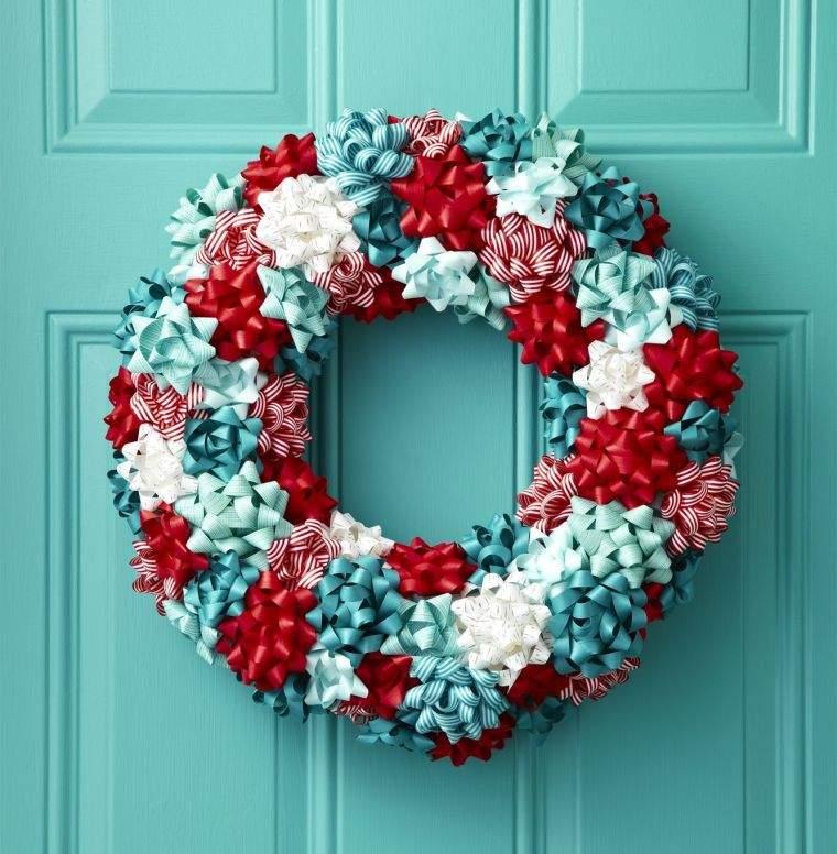 lazos navideños proyectos