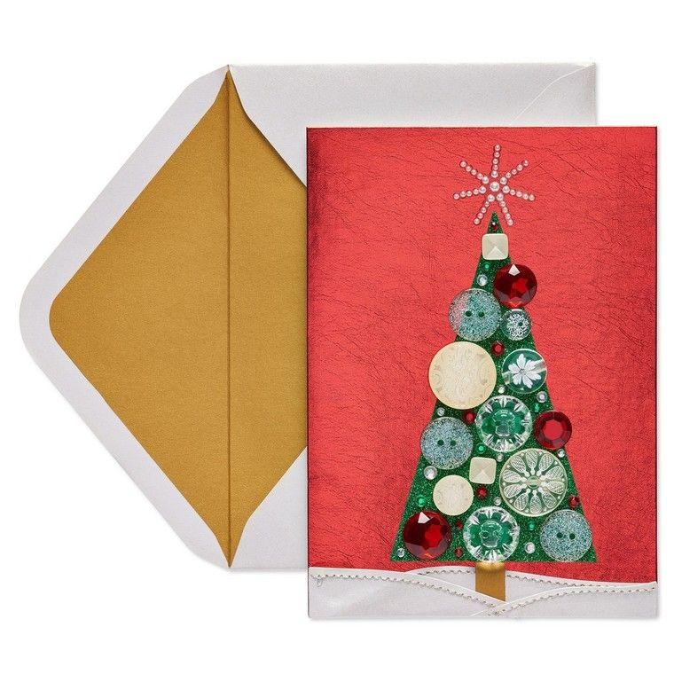 manualidades navideñas fáciles para niños botones
