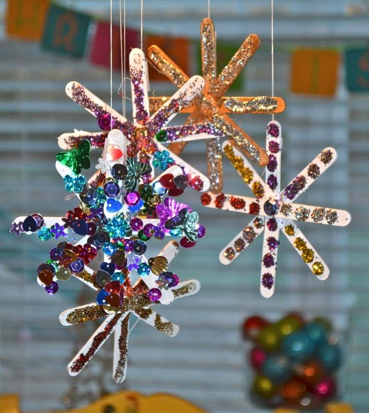 manualidades navideñas fáciles para niños copitos