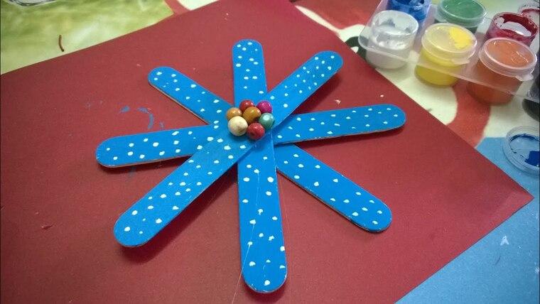 manualidades navideñas fáciles para niños copo