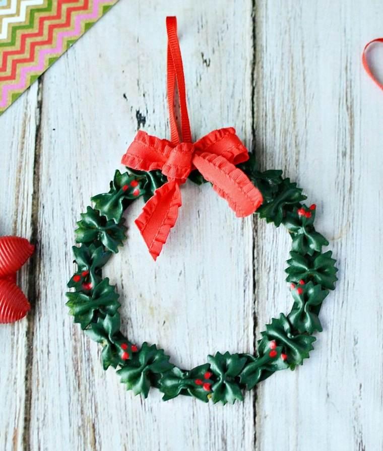manualidades navideñas fáciles para niños coronitas