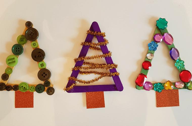 manualidades navideñas fáciles para niños decoracion