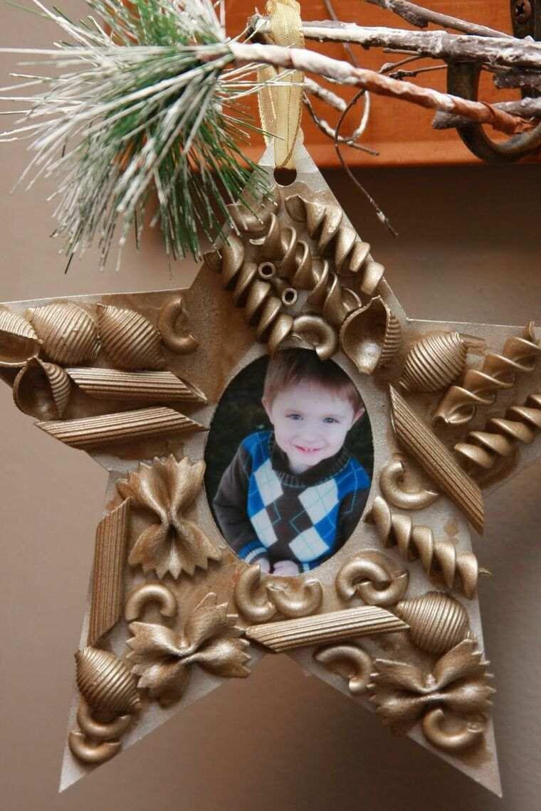 manualidades navideñas fáciles para niños estrella