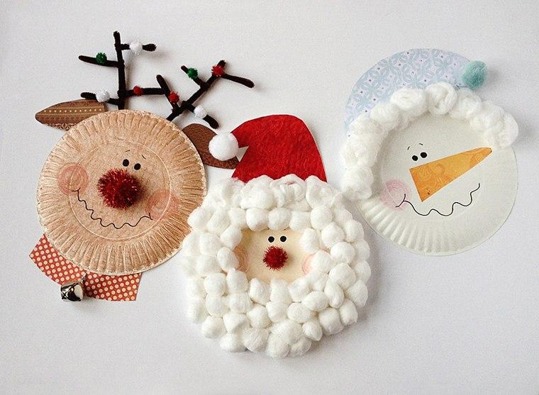 manualidades navideñas fáciles para niños lindos
