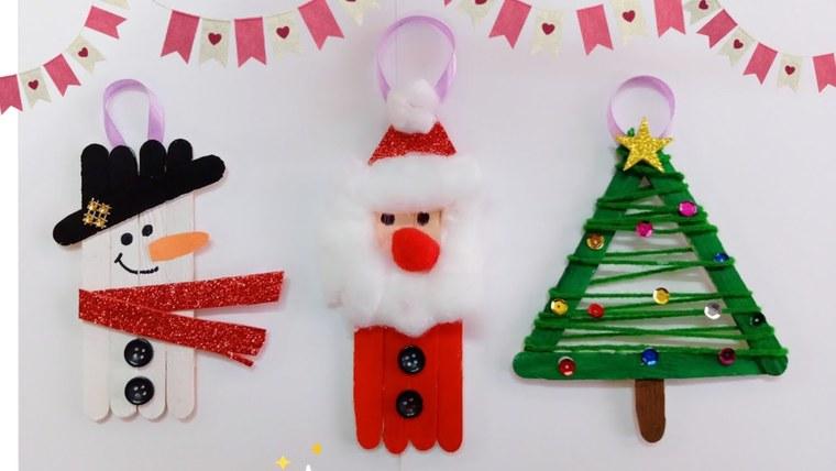manualidades navideñas fáciles para niños motivos
