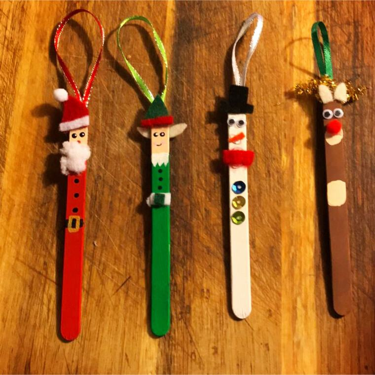 manualidades navideñas fáciles para niños navidad