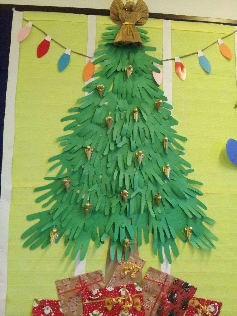 manualidades navideñas fáciles para niños pequeños