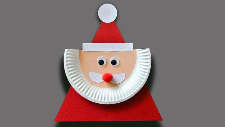 manualidades navideñas fáciles para niños platoss