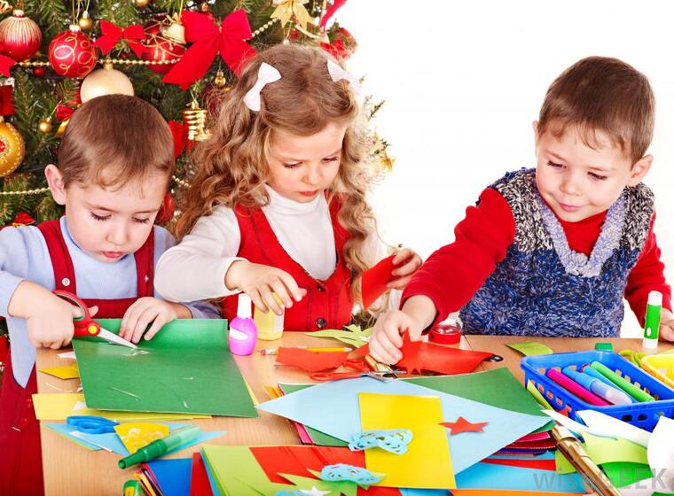 manualidades navideñas fáciles para niños present