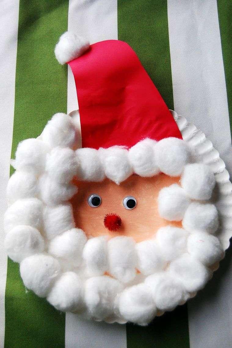 manualidades navideñas fáciles para niños santa