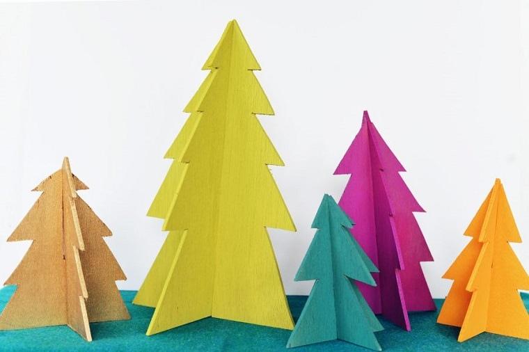 manualidades navideñas originales coloridas
