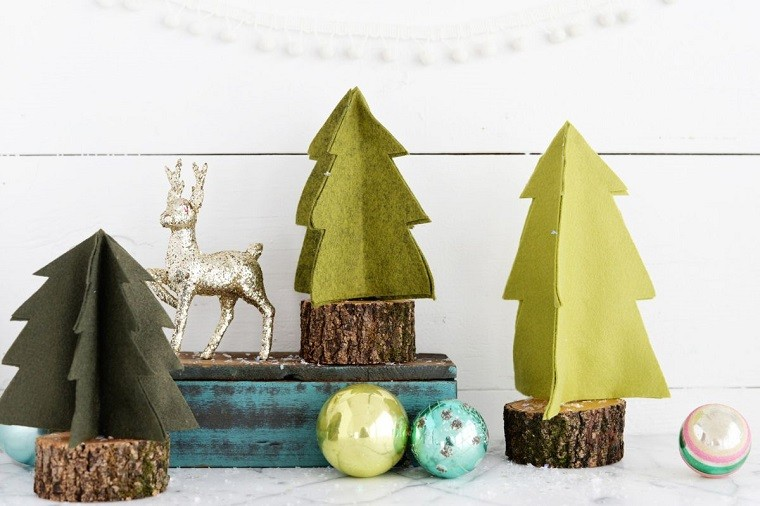 manualidades navideñas originales tela