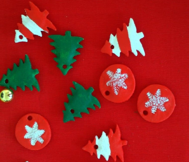 masa de sal navideños