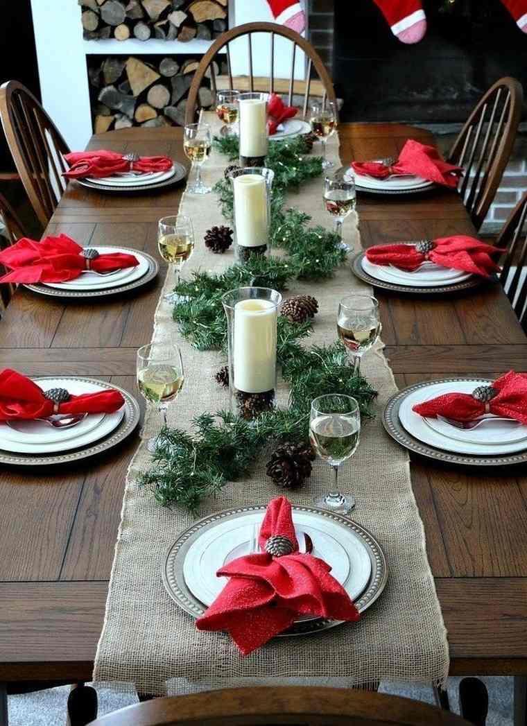 mesa de invierno caminos