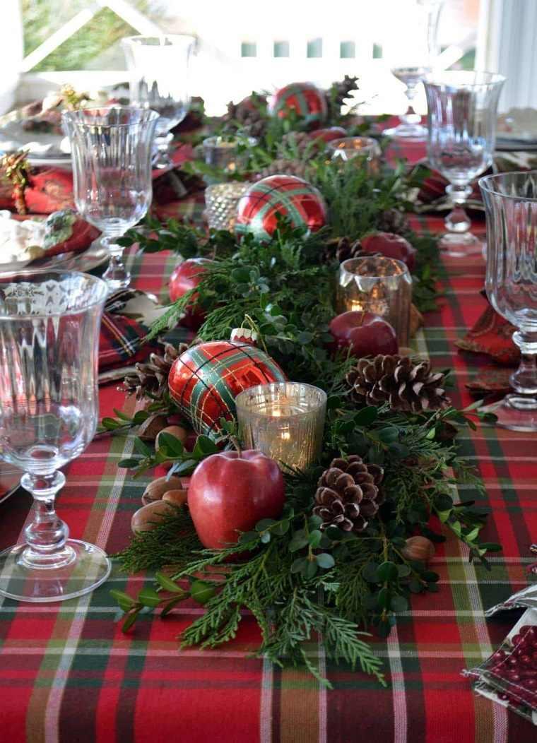 Mesa de invierno – Ideas originales de decoración navideña