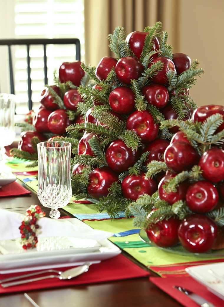 mesa de invierno manzana